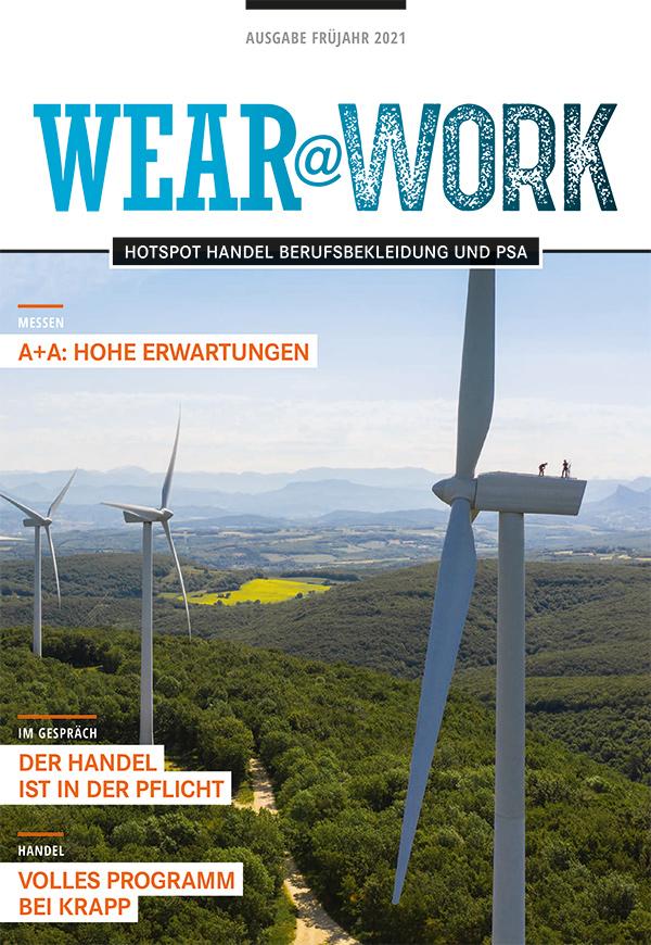 wear@work Ausgabe Frühjahr 2021